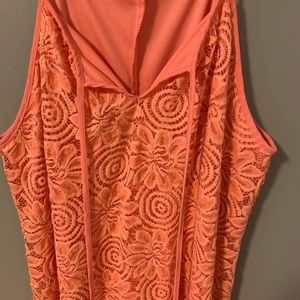 Cute orange sun dress